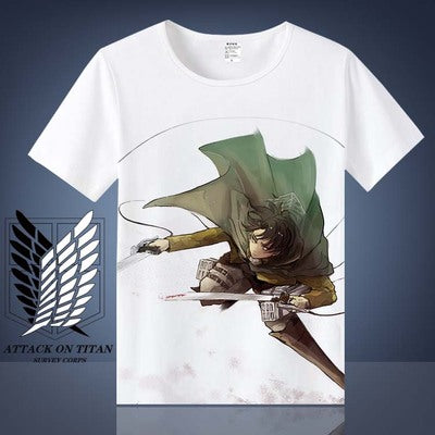 Attack on Titan Levi Ackerman T shirt Shingeki No Kyojin