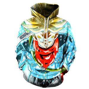 Dragon ball z Super Hoodie - Super Saiyan Trunks