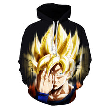 Goku Instant Transmission Hoodie Dragon ball z