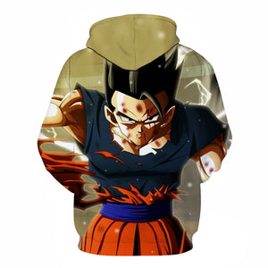 Gohan Unleashed hoodie Dragon Ball Z