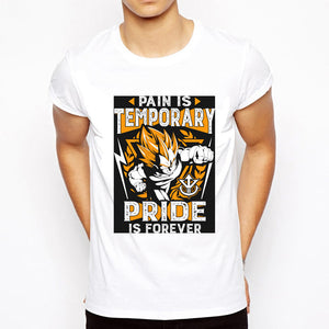 Dragon Ball Z Super Vegeta Pain is temporary T Shirt