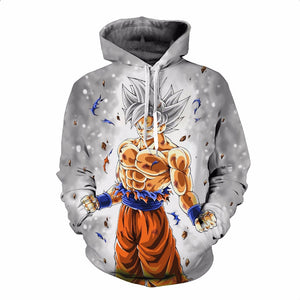 Dragon Ball Z Super- Ultra Instinct Mastered Goku Hoodie