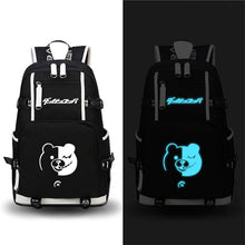 Danganronpa Monokuma Glow In Dark Backpack