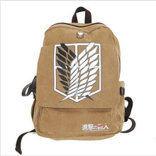Attack On Titan Backpack survey corps