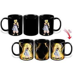 Dragon Ball Z / Super- Heat reactive mugs with Vegeta, Goku, and more