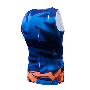 Dragonball Z Super- Goku Ultra Instinct  Workout Compression Tank Top