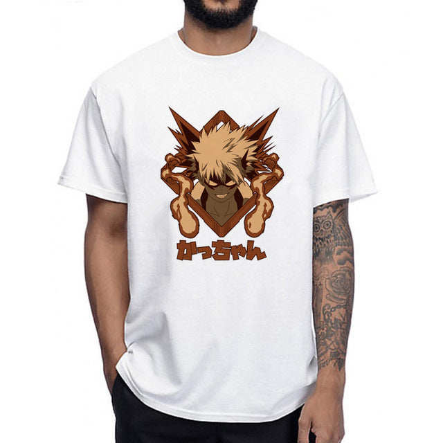 Boku No Hero- Katsuki Bakugo Shirt My Hero Academia