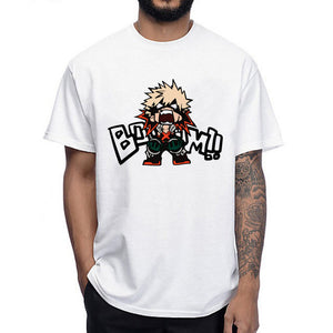 Boku No Hero- Katsuki Bakugo Boom Shirt My Hero Academia