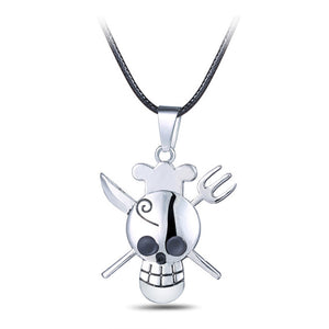 Anime Necklace - One Piece Zoro Skull necklace