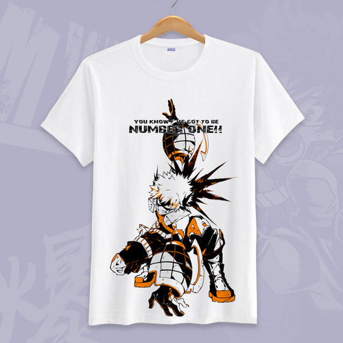 Boku No Hero Academia Bakugo T-Shirt   My Hero Academia