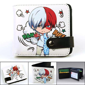 Anime Wallet - Premium My Hero Academia Shoto Todoroki Wallet
