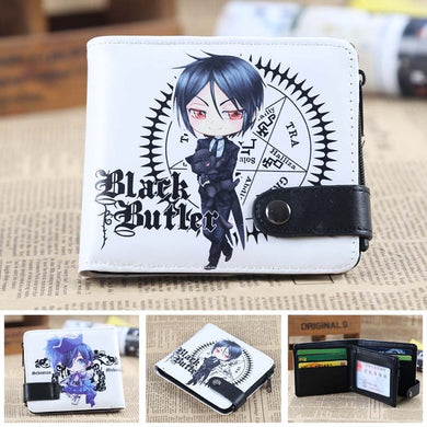 Anime Wallet - Premium Black Butler wallet
