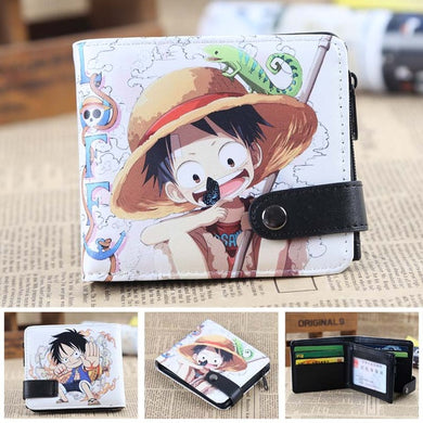 Anime Wallet - Premium One Piece Kid Luffy Wallet