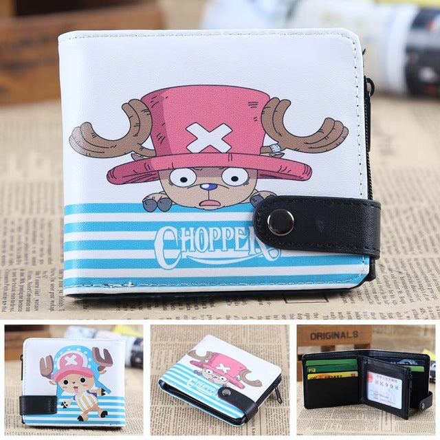 Anime Wallet - Premium One Piece Tony Tony Chopper Wallet