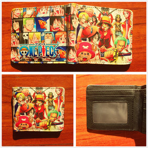 Anime Wallet - One Piece Luffy Strawhat Crew Wallet