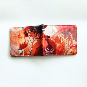 Anime Wallet - One Piece Portgas D. Ace Wallet