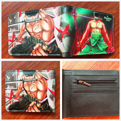 Anime Wallet - One Piece Roronoa Zoro Wallet