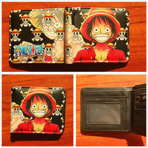 Anime Wallet - One Piece Luffy Wallet