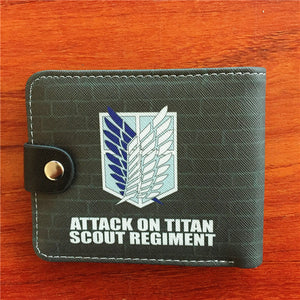 Anime wallet - Attack On Titan, Levi Ackerman Wallet