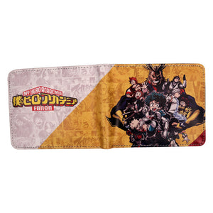 Anime Wallet - Premium My Hero Academia Wallet
