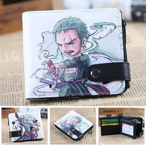 Anime Wallet - Premium One Piece Roronoa Zoro Wallet