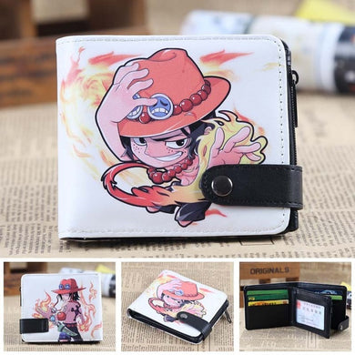 Anime Wallet - Premium One Piece Portgas D. Ace Wallet
