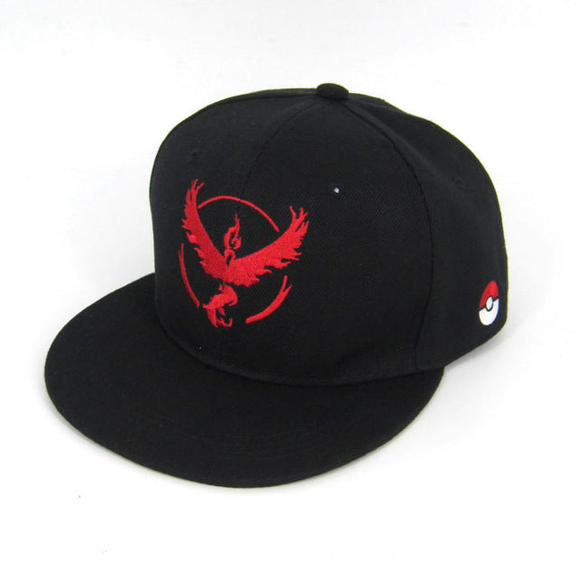 Anime Hat - Pokemon Go Team Valor Snapback