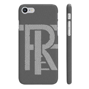 Phone Case Grey - TREF Bold Logo- Founders Edition