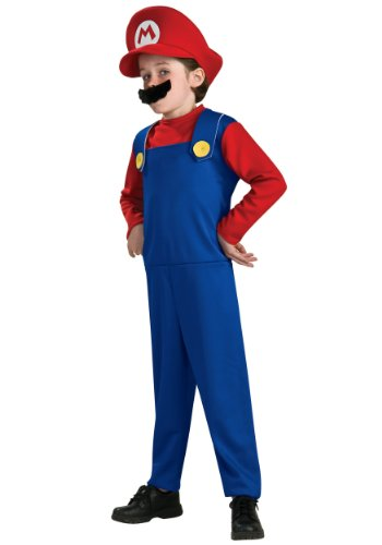Super Mario Brothers, Mario Costume, Small (Discontinued By Manufacturer)