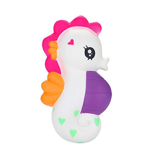 Xuanou Squishies Seahorse Scented Slow Rising Squeeze Toys Stress Reliever Toys