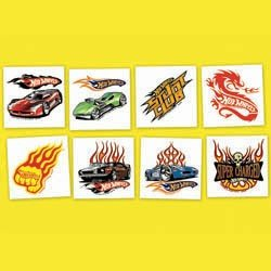Hot Wheels Temporary Tattoo