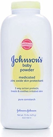 J&J Baby Pwdr Medicated Size 15Z Johnson'S Medicated Baby Powder