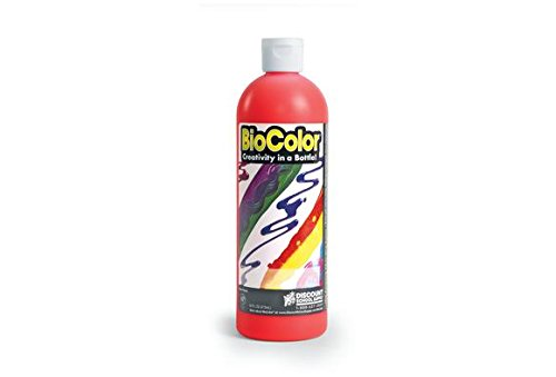 Biocolor Paint, Fluorescent Red - 16 Oz. (Item # Fbiore)