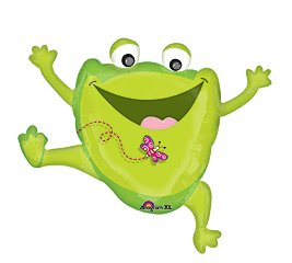 Happy Frog Mylar Balloon Party Supplies Super Shape By Anagram/Md