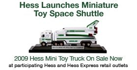 2009 Hess Miniature Space Shuttle Transport