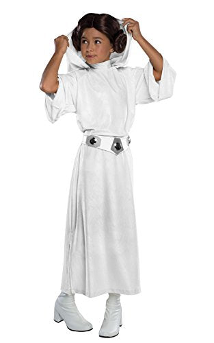 Rubie'S Costume Star Wars Classic Princess Leia Deluxe Child Costume, Large