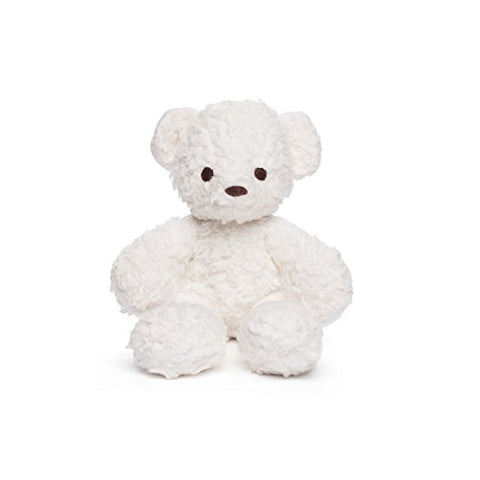 Bears For Humanity Organic Baby Sherpa Bear Teddy, White, 10