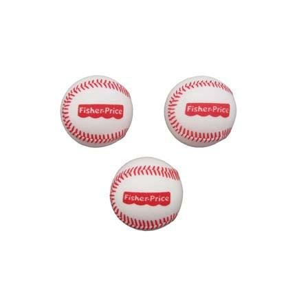 Fisher Price Better Batter Baseball Replacement 3 Balls
