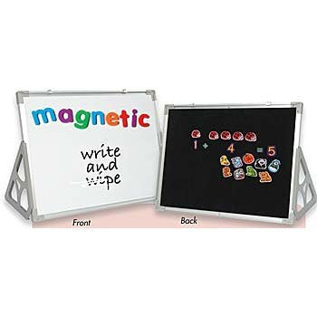 3 'N 1 Magnetic Wipe-Off, Flannel Boards & Stands - 18 X 24