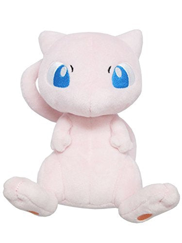 Sanei Pokemon All Star Series Pp20 Mew Stuffed Plush, 6.5