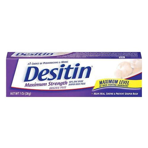 Desitin Desitin Maximum Strength Diaper Rash Paste, 1 Oz