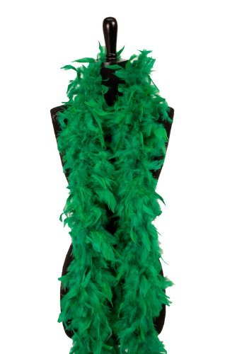 Green Feather Boa 6 Feet St. Patrick'S Day