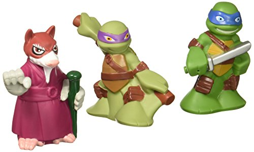 Teenage Mutant Ninja Turtles Pre-Cool Half Shell Heroes Leonardo, Donatello And Splinter Bathtub Squirter Figure