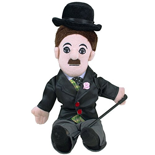 Charlie Chaplin Little Thinker - 11  Plush Doll For Kids And Adults
