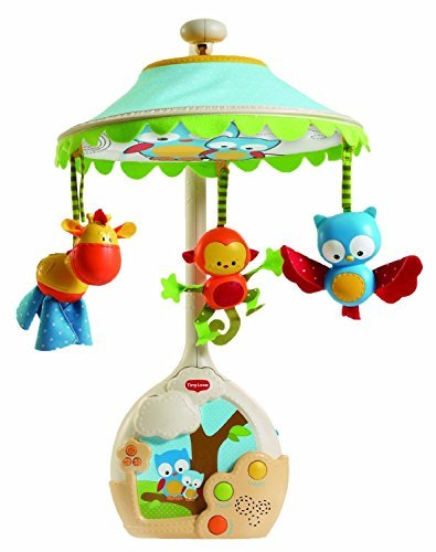 Tiny Love Magical Night Projector Crib Soother Musical Mobile Owl Forest