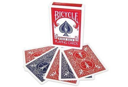 Magic Makers Bicycle Red/Blue Double Back Card Deck