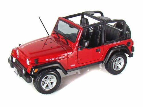 Jeep Wrangler Rubicon 1/18 Red