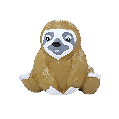Xuanou Cute Sloth Decompression Slow Rising Squeeze Relieve Squishies Toys