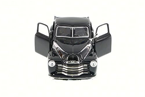 1950 Chevy 3100 Pickup Truck, Black - Showcasts 34952 - 1/24 Scale Diecast Model Toy Car