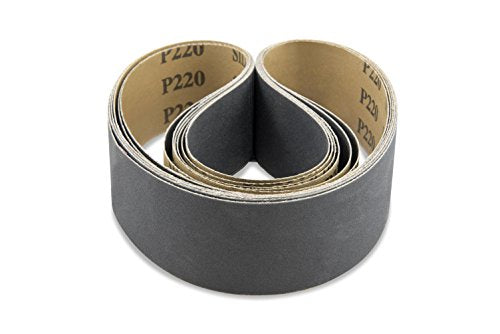 2 X 48 Inch 600 Grit Silicon Carbide Sanding Belts,